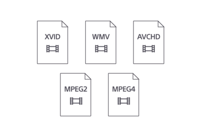 Formatos de video compatibles con el UBP-X700